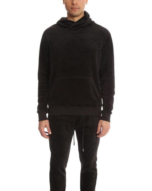 ATM - Velour Hoody Black for Men - Lyst