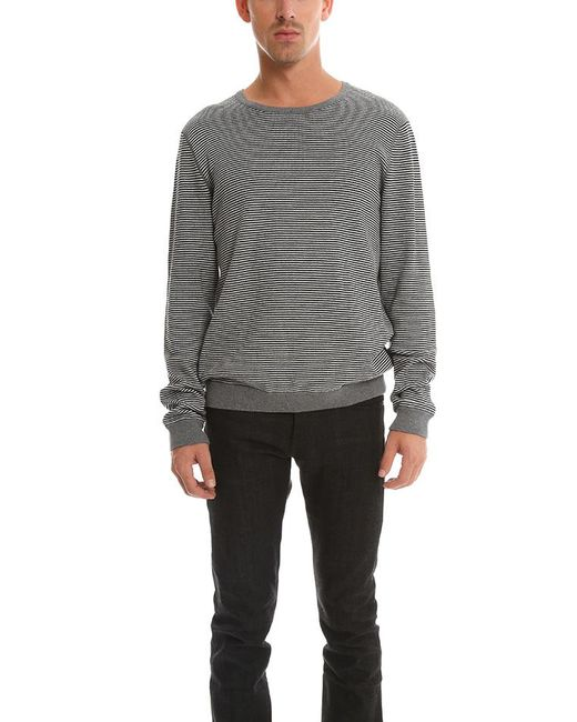 Rag & Bone | Gray Striped Sweater for Men | Lyst