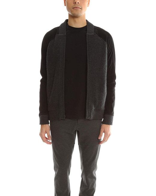 Quinn - Black Oliver Bomber Jacket for Men - Lyst