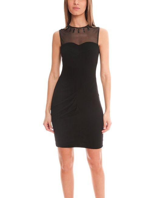 Yigal Azrouël   Black Crepe Jersey Dress   Lyst