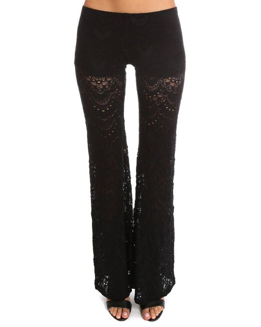 Nightcap | Black Spanish Bells Pant | Lyst