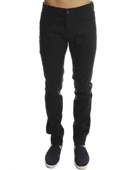Vince - Black Linen 5-pocket Soho Trouser for Men - Lyst