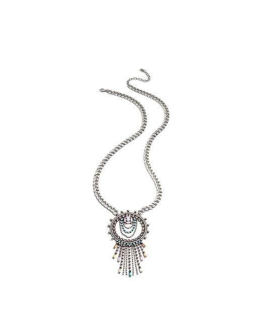 DANNIJO - Metallic Zamira Necklace - Lyst