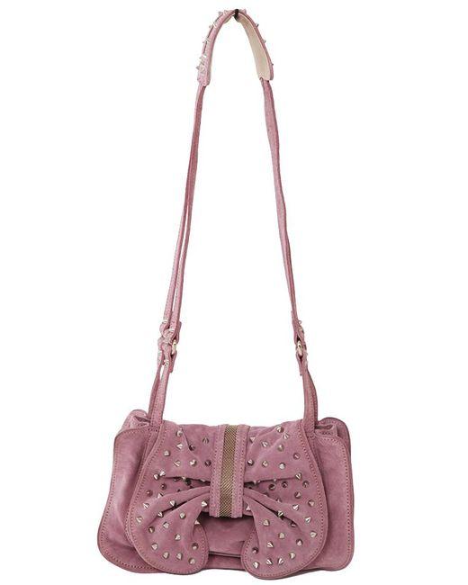3.1 Phillip Lim - Purple Edie Studded Bow Bag - Lyst