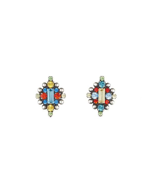 DANNIJO | Metallic Chuma Earrings | Lyst