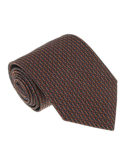 Missoni - Multicolor U4527 Orange/gray Grenadine 100% Silk Tie for Men - Lyst