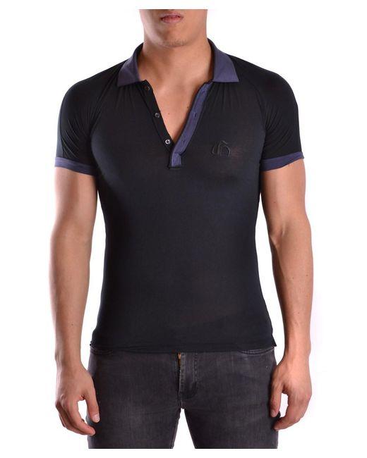 John Galliano - Men's Mcbi130109o Blue Cotton Polo Shirt for Men - Lyst
