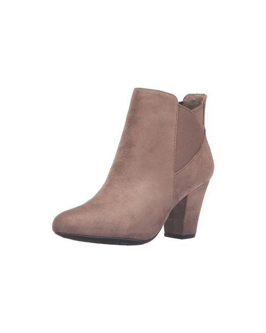 BCBGeneration - Brown Womens Dolan Fabric Closed Toe Ankle Chelsea Boots - Lyst