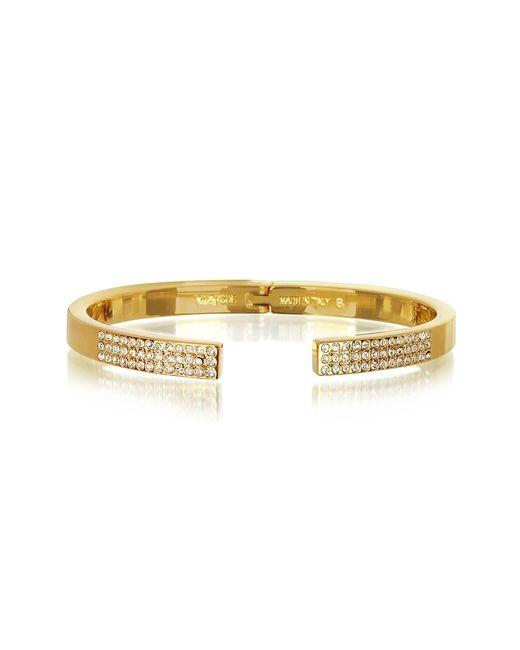 Vita Fede - Metallic Diviso Gold Tone Crystal Bracelet - Lyst