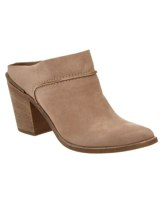 Dolce Vita | Brown Wes Leather Mule | Lyst