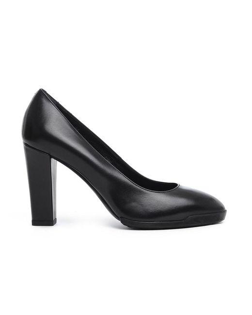 Tod's - Women's Black Leather Pumps - Lyst