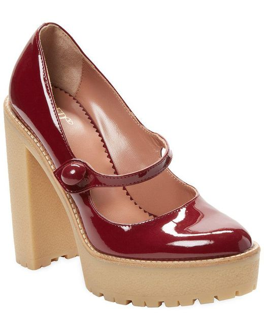 RED Valentino - Red Mary Jane Valentino Pump - Lyst