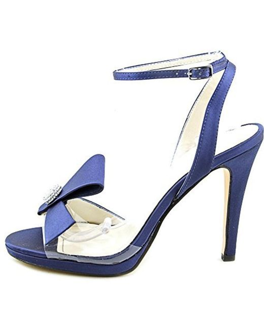 Caparros - Blue Women's Leigh Open Toe Heeled Sandals - Lyst