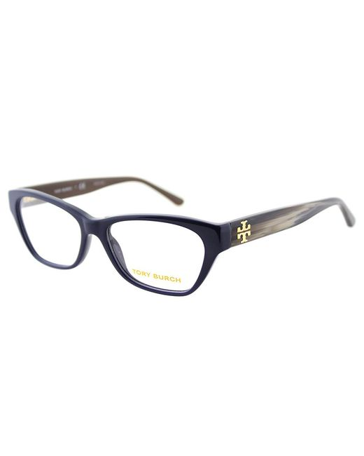 Tory Burch - Blue Cat-eye Plastic Eyeglasses - Lyst