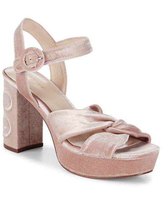 Nine West - Pink Chic Sandal - Lyst