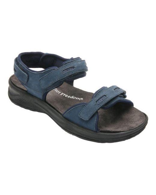 Drew - Blue Women's Cascade Sandal - Lyst