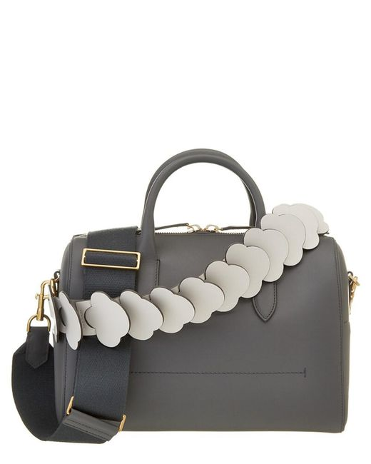 Anya Hindmarch | Multicolor Vere Barrel With Link Strap Leather Bowler | Lyst
