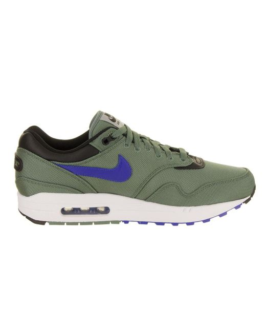 lowest price 6c814 40a5e ... Lyst Nike - Green Men s Air Max 1 Premium Running Shoe for Men ...