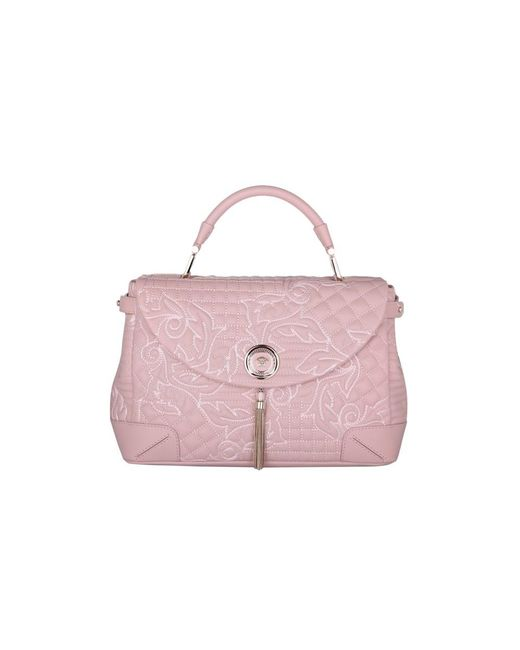 7d307e0d92 Versace - Pink Top Handle Vanitas Altea - Lyst ...