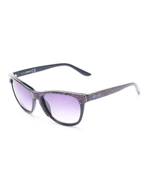 Just Cavalli - Women's Cheetah Print Classic Style Sunglasses Cheetah/black - Lyst