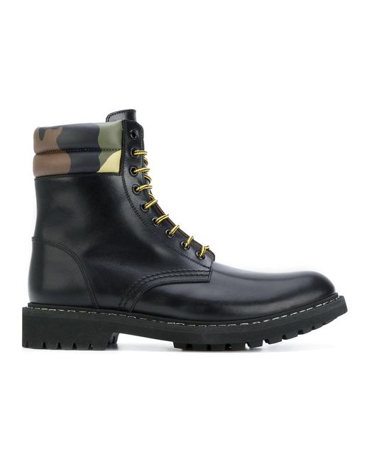 Givenchy | Men's Black Leather Ankle Boots for Men | Lyst