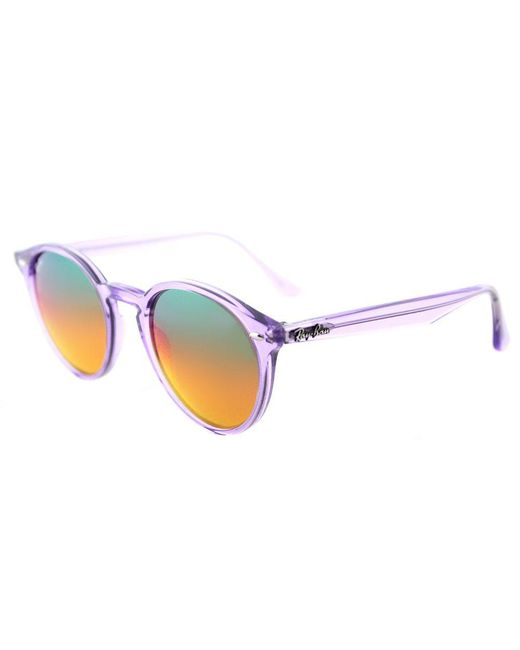 Ray-Ban - Multicolor Rb 2180 6280a8 49mm Shiny Violet Round Sunglasses - Lyst