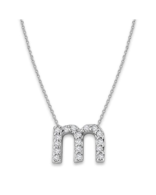 KC Designs | Metallic 14k Gold And Diamond Lowercase Initial Necklace, M | Lyst