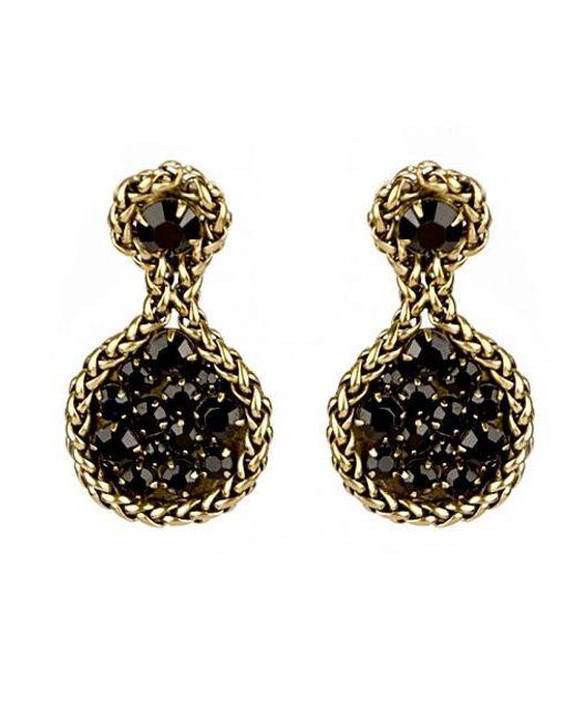 Nicole Romano   Metallic Errai Earrings   Lyst