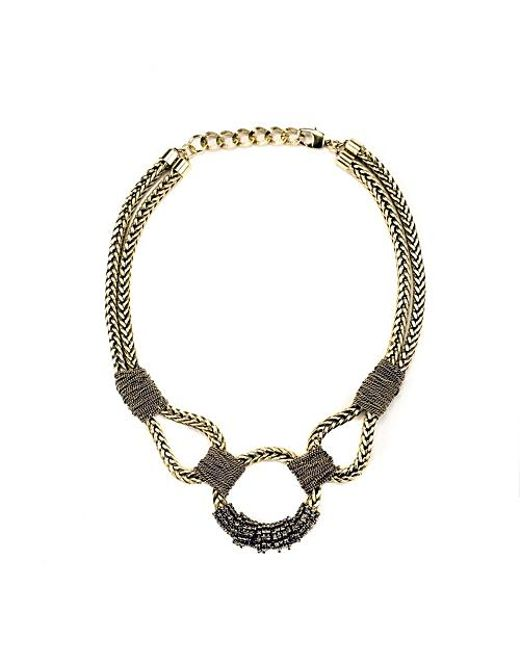 Nicole Romano | Metallic Copaia Necklace | Lyst