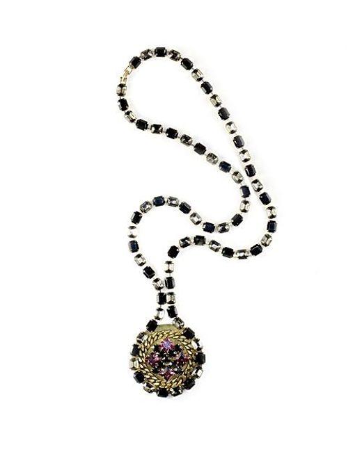 Nicole Romano   Metallic Pere Necklace   Lyst
