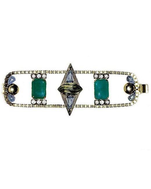 Nicole Romano | Green Mei Bracelet | Lyst