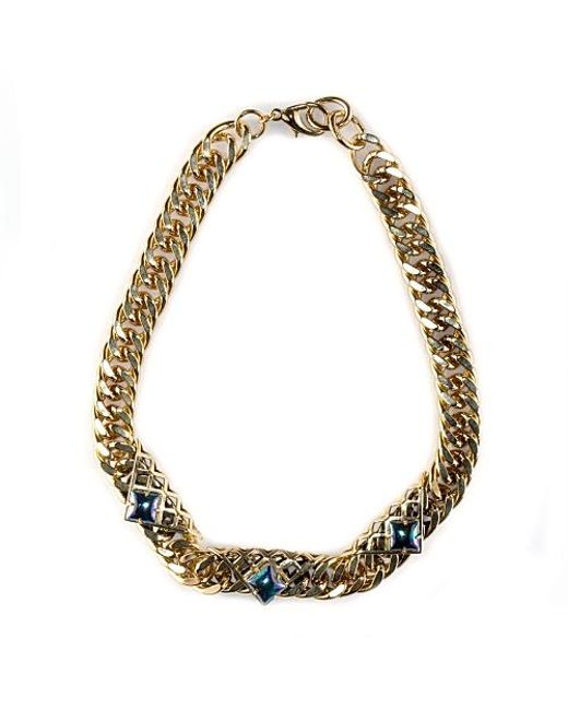Nicole Romano | Metallic Rou Necklace | Lyst
