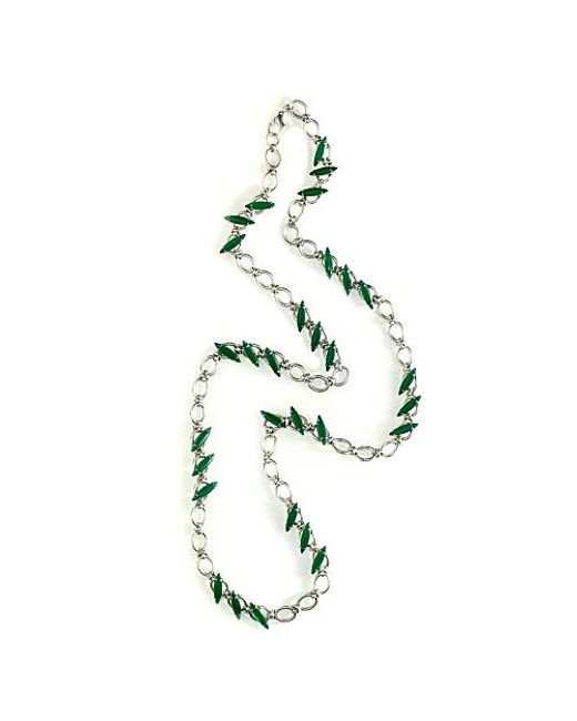 Nicole Romano | Green Ying Necklace | Lyst