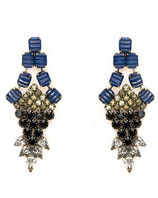 Nicole Romano | Blue Nove Earrings | Lyst