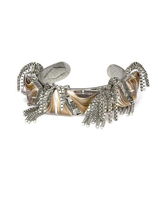 Nicole Romano | Metallic Taurini Cuff | Lyst