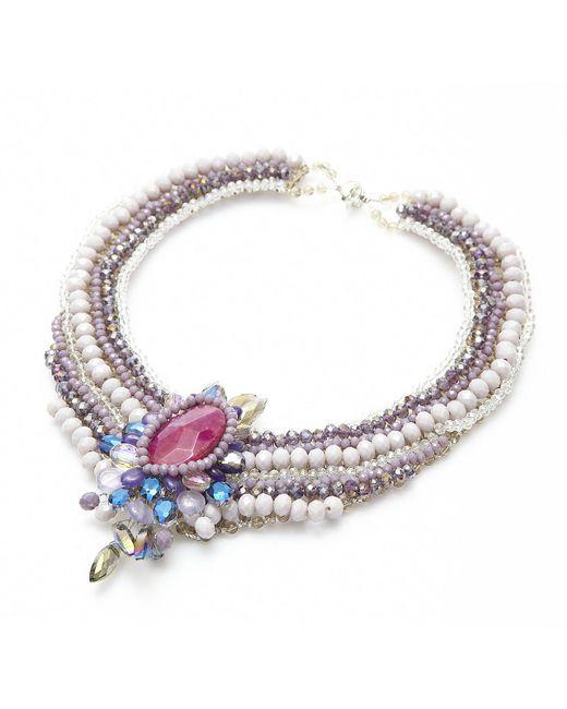 Nakamol   Multicolor Regalia Necklace-purple   Lyst