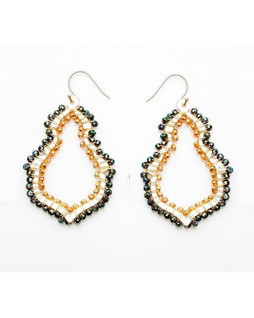 Nakamol | Multicolor Candle Flame Earrings-green | Lyst