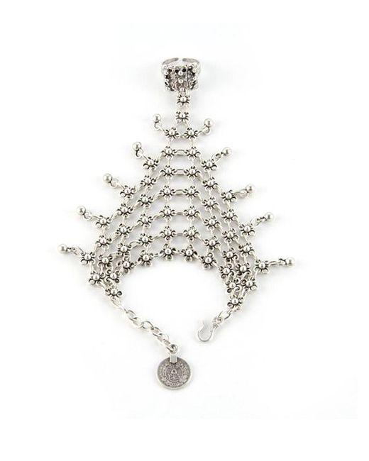 Natalie B. Jewelry   Metallic Natalie B. Queens Veil Handpiece In Silver   Lyst