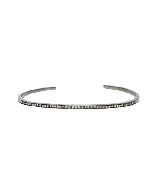 Adornia | Metallic Champagne Diamond Mercer Cuff Bracelet | Lyst