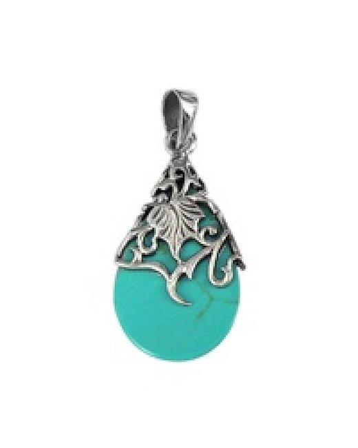 Aeravida | Blue Vintage Vine Adorned Stone Teardrop .925 Silver Pendant | Lyst