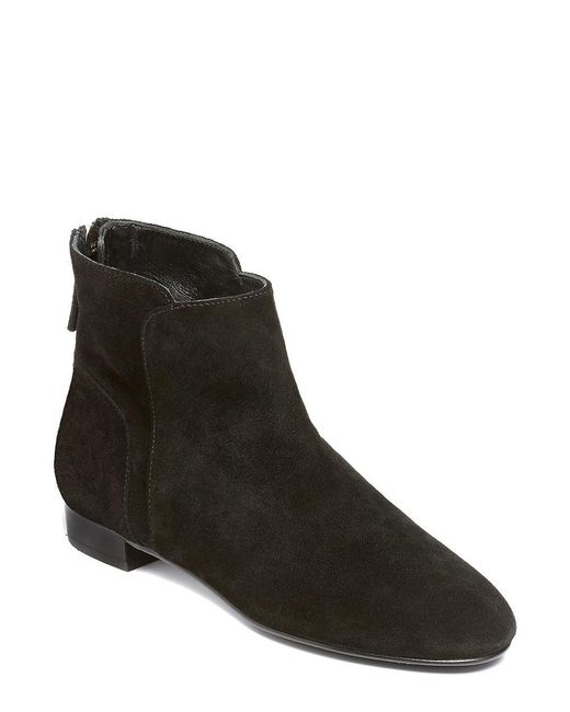 Delman | Brown Myth Suede Ankle Boots | Lyst