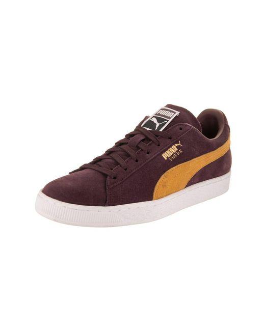 PUMA - Metallic Men's Suede Classic + Casual Shoe for Men - Lyst