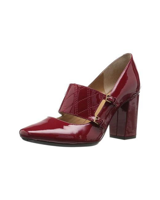 Calvin Klein - Red Womens Casilla Closed Toe Mary Jane Pumps - Lyst