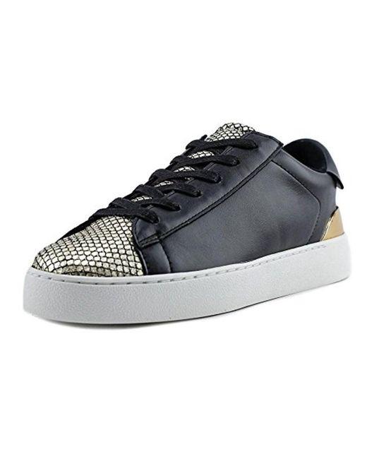 Nine West - Women's Palyla Leather Walking Shoe, Black, Size 5.0 - Lyst
