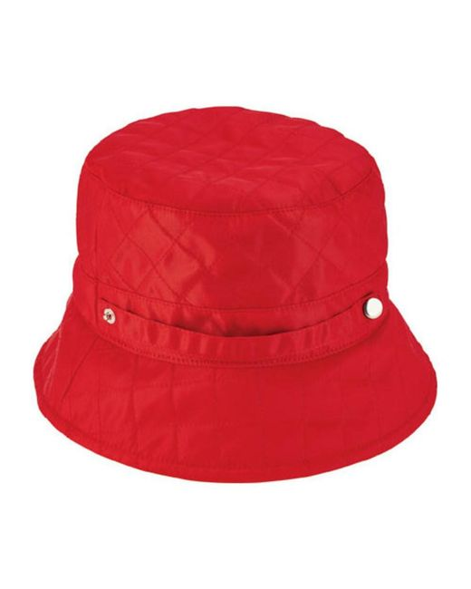 San Diego Hat Company - Red Women's Quilted Rain Hat Sdh3402 - Lyst