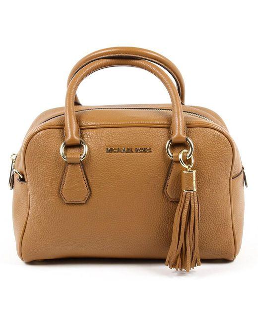 Michael Kors - Brown Womens Handbag Bedford - Lyst