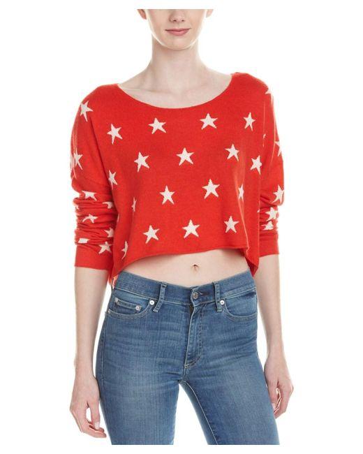 Wildfox | Red Billy Angora-blend Sweater | Lyst