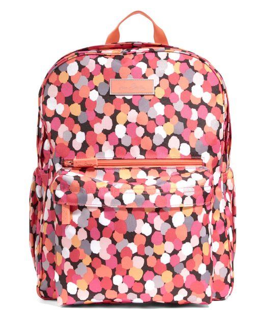 Vera Bradley | Pink Pixie Confetti Lighten Up Grande Backpack | Lyst