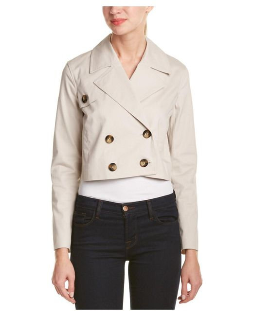 Laundry by Shelli Segal | White Jacket | Lyst