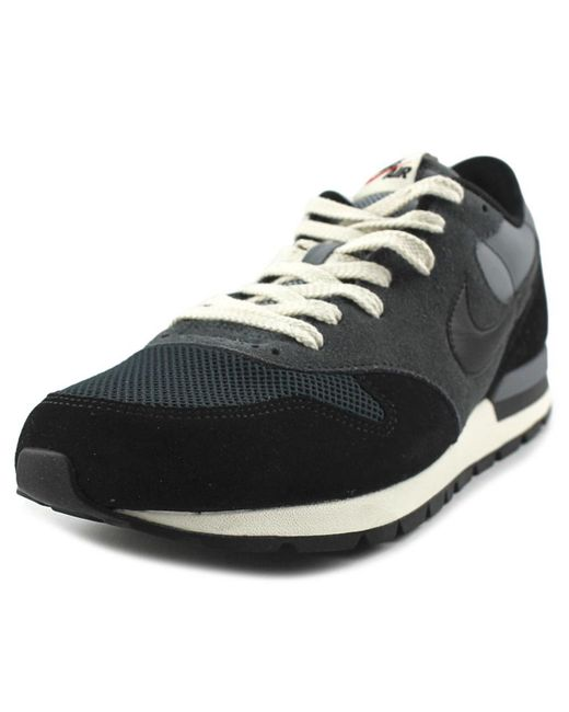 Nike   Black Epic Qs Women Round Toe Leather Sneakers   Lyst
